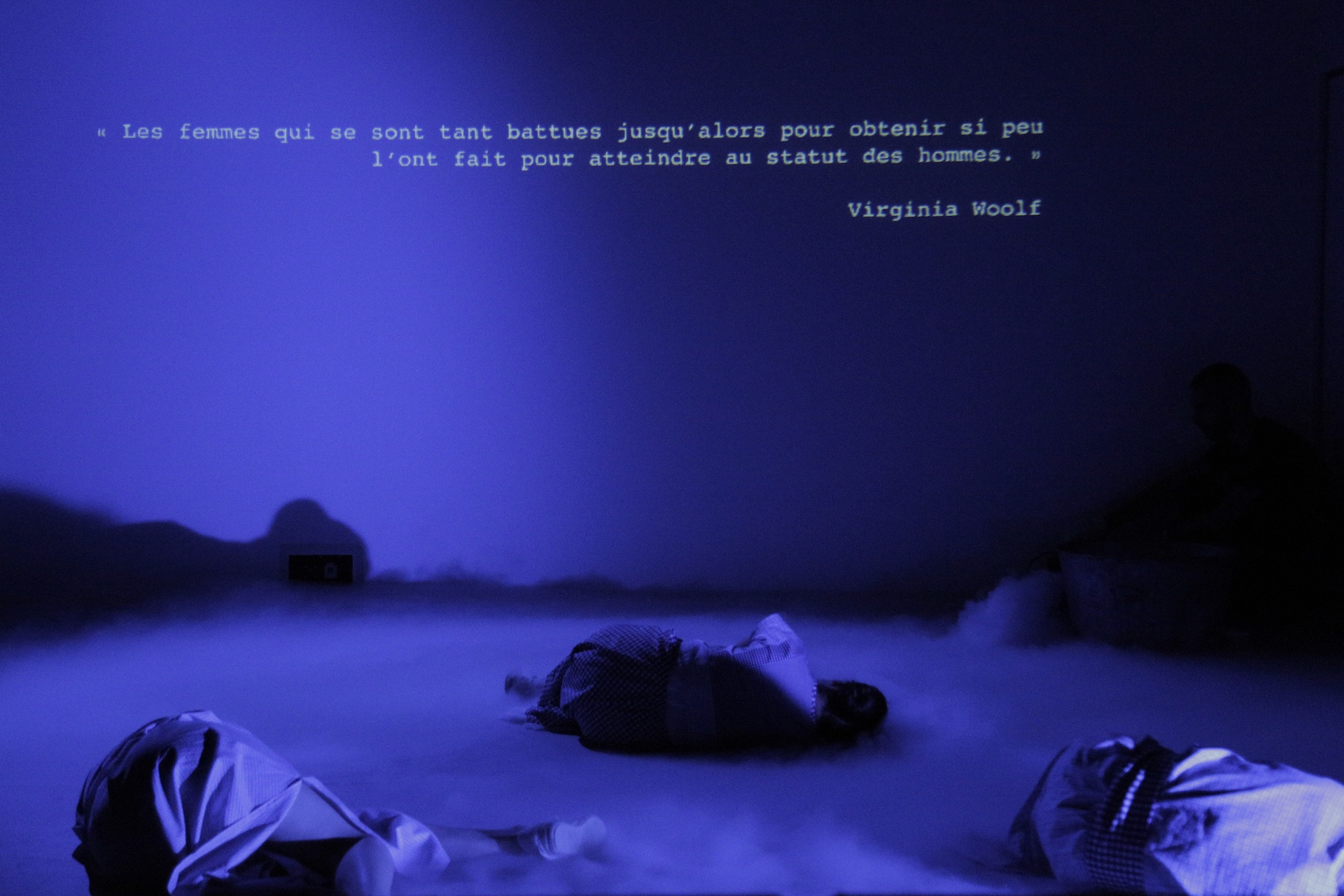 ClaudelKahloWoolf - Monica Mojica - 2 - Blandine Armand - Captations