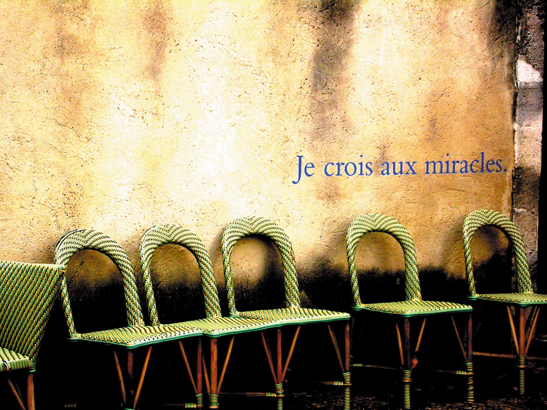 Entre Ciel et Terre _ 1- Miracle _ série photos