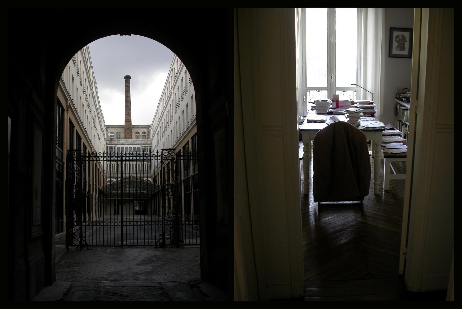 Journal# - 2. Paris, chez lui - Blandine Armand - série photos