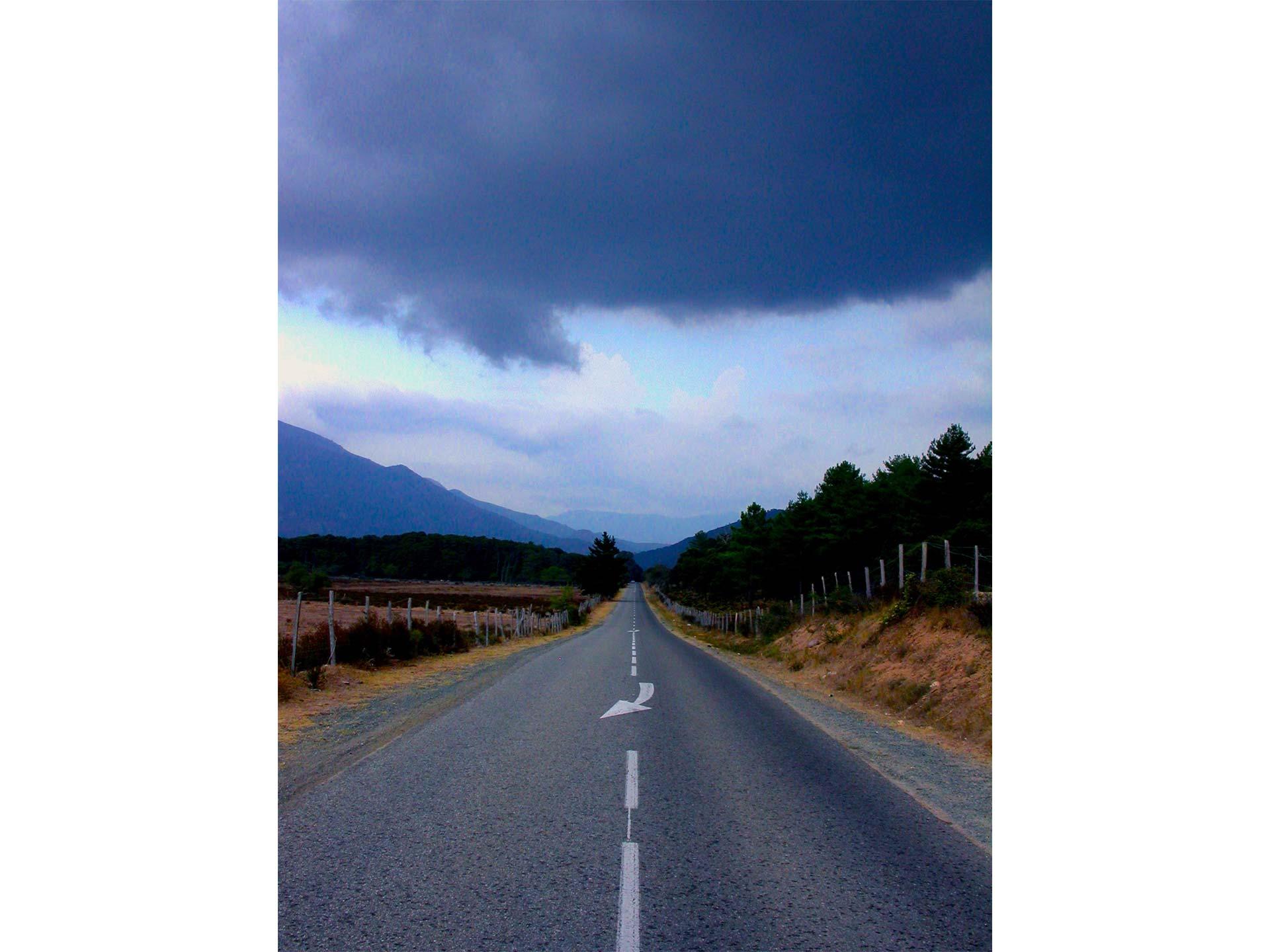 BLEU 7 (La route) - Blandine Armand - série photos