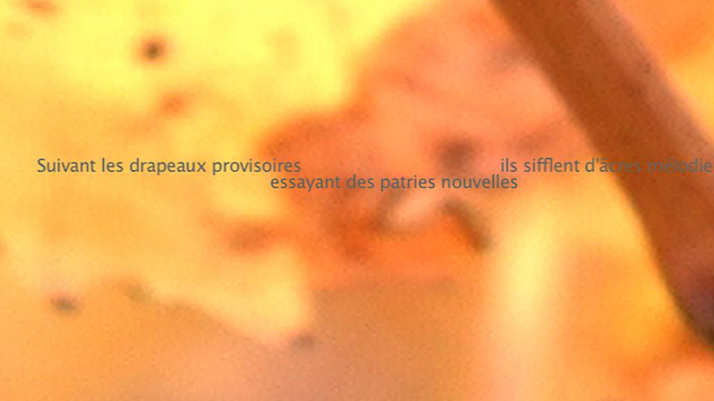 Le Murmure du monde - L'orée des vignobles 8 - Blandine Armand - créations vidéos